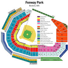 Fenway Park Seating Chart Views And Reviews Boston Red Sox
