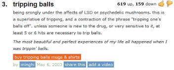 Tripping Balls | Know Your Meme via Relatably.com