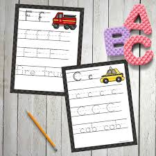 Transportation Handwriting Printables 123 Homeschool 4 Me