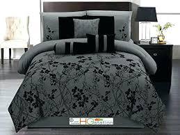 dark grey bedding. Charcoal Bedding Sets Black Grey Brilliant Dark Gray Comforter 7 Autumn Vine Twig . S