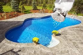 backyard salt water pool. Fine Water Salt In Ground Pool On Backyard Salt Water Pool