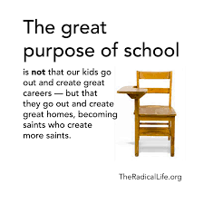the purpose of school matthew warner purpose of school radical