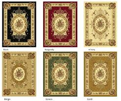 french aubusson fl country style area rug 5x7 area rug