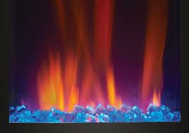 crystaline ember bed blue