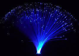 fibre optic solar garden light