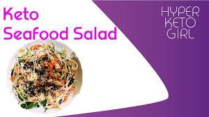 Keto Seafood Salad recipe - YouTube