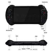 Máy Chơi Game Cầm Tay Powkiddy X15 Andriod 7.0 Wifi Full game PSP/PS1/N64/call  of duty/God Of War/PUBG Màn Hình Cảm Ứng