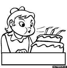 Small Picture Birthday Online Coloring Pages Page 1