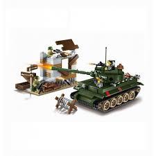 <b>Enlighten Brick</b> Военная база Combat Zone (380 деталей ...