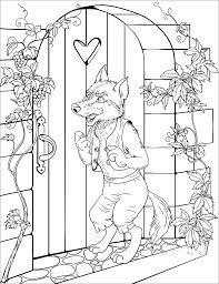 I saw this instructable today and really liked how it was done and wished i had seen i sewed them together using my wife's sewing machine. Big Bad Wolf Coloring Page Free Printable Coloring Pages For Kids
