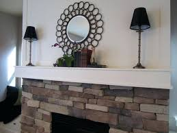 fireplace mantel lamps apartment large size decorating the fireplace mantel home first up was symmetry part fireplace mantel lamps