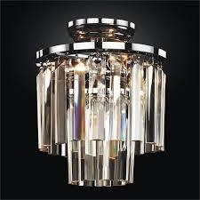 Modern Glass Flush Mount Timeless 614 GLOW Lighting