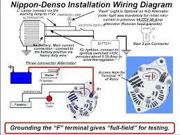 one wire alternator wiring diagram tractor tractor 1 wire alternator