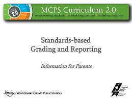 Ppt Standards Based Grading And Reporting Information For