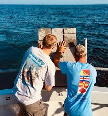 Ocean City Md Tide Chart 2018 Oc Reef Foundation Drops 26 000th Reef Block Delaware Surf