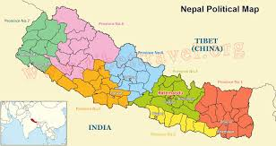 nepal map map of nepal nepal tour map  tibet vista