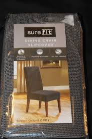 3 stretch oxford short dining room chair slipcover grey target inside sure fit covers design 49