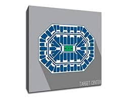 Target Center Seating Chart Amazon Com Minnesota Target Center Basketball Seating