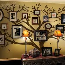 extra large family photo tree giant photo tree wall decal for home feature