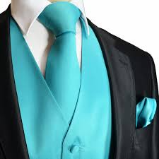 Brand Q Solid Vest Tie Hanky Moda Suits E Turquoise Blue. cool rooms for  teenagers ...