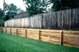 landscape timbers retaining wall timber build how to a wooden