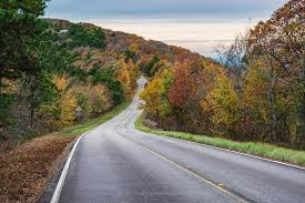 Talimena National Scenic Byway in Autumn Photograph by Gregory Ballos
