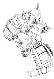 Optimus Prime Coloring Pages Broken Window With Band Aid Patch