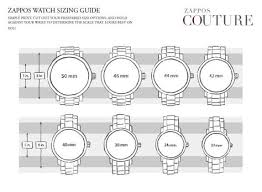 Watch Diameter Chart Watch Case Diameter Chart Google Search Partes De Reloj