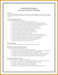 Resume Cna Duties For Resume Tax Accountant Job Responsibilities