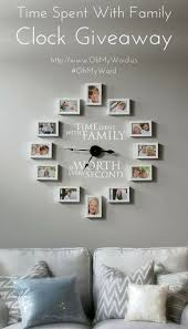 clock time wall family