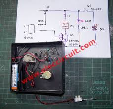 simple moisture meter by n electronic projects circuits the wiring and components of simple moisture meter