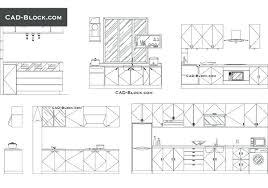 Autocad Kitchen Design Inspiration Autocad Kitchen Design Blocks Large Size Of Kitchen Blocks Kitchen