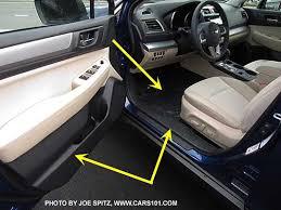 subaru outback interior 2016. Exellent Subaru 2016 And 2015 Subaru Outback Legacy Ivory Interior Has Dark Carpets  Door Sills Inside Interior D
