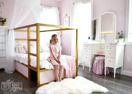 Pink White And Gold Bedroom A Shabby Chic Glam Girls Bedroom Design ...