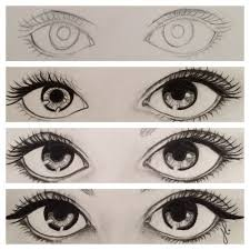 How To Draw Eyes Step By Step How To Draw Eyes Tumblr