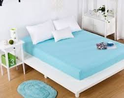 king size bed sheet blue king size fitted bed sheet mattress cover coverlet bedding 200