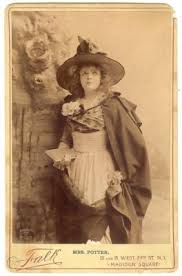 SCANDALOUS ACTRESS CORA POTTER COSTUME CABINET PHOTO* | #149779957