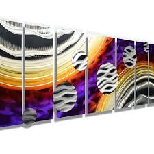 colorful metal wall art abstract metal circles wall art colorful metal wall art decor