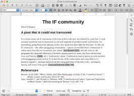 word processing in libreoffice writer with deliberate error