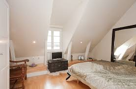 Bedroom:Charming White Single Bed At Attic Bedroom Also White Interior  Ideas Charming White Single