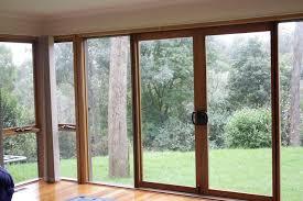 timber sliding doors