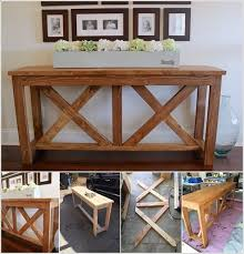 an x brace table that is sure to stun everyone