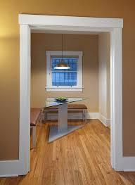 rustic door trim ideas dining room contemporary with white window casing hardwood floor window