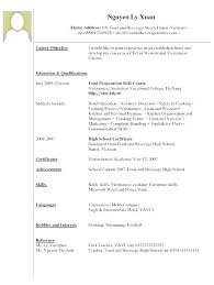 Example Of Resume For Waitress Awesome Waitress Resume Sample Example Of Examples No Experience Restaurant