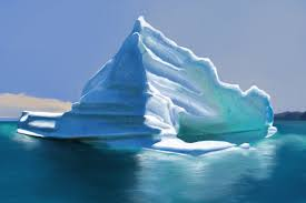 iceberg digital painting by liquos