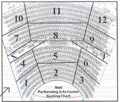 North Charleston Performing Arts Center Seating Chart Unique