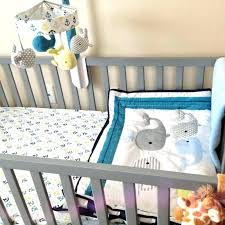 whale nursery decor whale crib bedding set whale nursery decor crib bedding set whales n waves