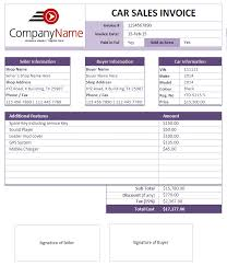 Sale Invoice Format In Word Car Rental And Sales Invoice Templates Sales Invoices