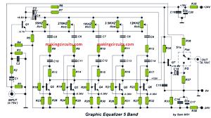 5 band graphic equaliser circuit diagram wiring diagrams 5 band equalizer circuit diagram wiring diagram datasource 5 band graphic equaliser circuit diagram