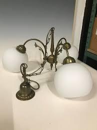 Jugendstil Bronze Messing Leuchter Kronleuchter Art 3